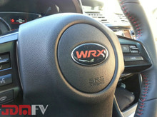 DOMED Steering Wheel Badges - (WRX)