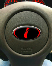 DOMED Steering Wheel Badges - Stars