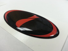 "DOMED Steering Wheel Badges - Impreza ""I"""