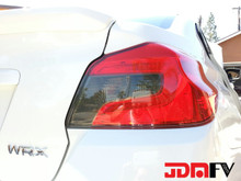 Precut Smoked Blinker/Reverse Tail Light Overlays Tint (15-19 WRX/STI)