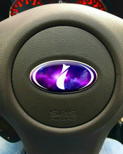 GALAXY - DOMED Steering Wheel Badges