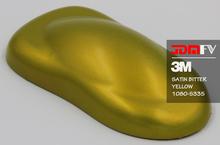 3M 1080 Scotchprint S335 - Satin Bitter Yellow Vehicle Wrap Vinyl - Universal Kit