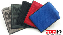 JDM Bride Logo Gradation Racing Wallets - Red, Gray, Gradation, Black, Blue