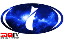 BLUE GALAXY - Precut Emblem Overlays Front/Rear (15-18 WRX/STI)