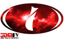 RED GALAXY - Precut Emblem Overlays Front/Rear (15-18 WRX/STI)