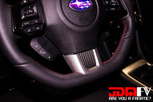 Plain - Precut Steering Wheel Trim (15-17 WRX/STI)