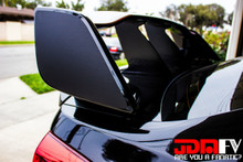 TYPE C - Precut Spoiler Wing Side End Overlay Wrap (11-14 STI)