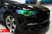 Neo Chrome - Head Light Overlays (15+ Mustang)