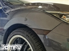 Front Bumper Reflector Overlays (16-17 Civic)