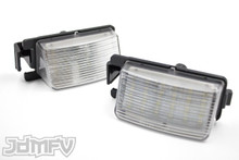 Xenon White High Power 18-SMD-1210 LED License Plate Lights - Nissan