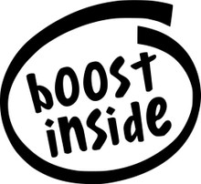 Boost Inside - DECAL