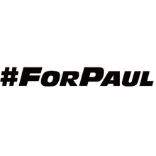 #FORPAUL - DECAL