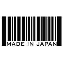 MADE IN JAPAN BARCODE - DECAL