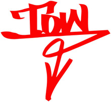 TOW Arrow Graffiti (DOWN)- DECAL