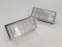 Xenon White High Power 18-SMD 3528 LED License Plate Lights - Lancer/EVO X