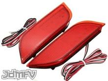 26-LED Rear Bumper Reflectors / Brake Lights / Turn Signals / Rear Fog Light - RED