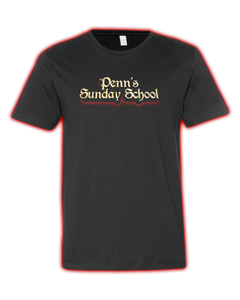 "Penn's Sunday School ""LOGO"" Tee."