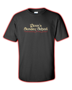 "Penn's Sunday School ""LOGO"" Tee"