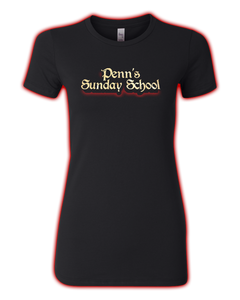 "Penn's Sunday School ""LOGO"" Ladies' Fitted Tee"