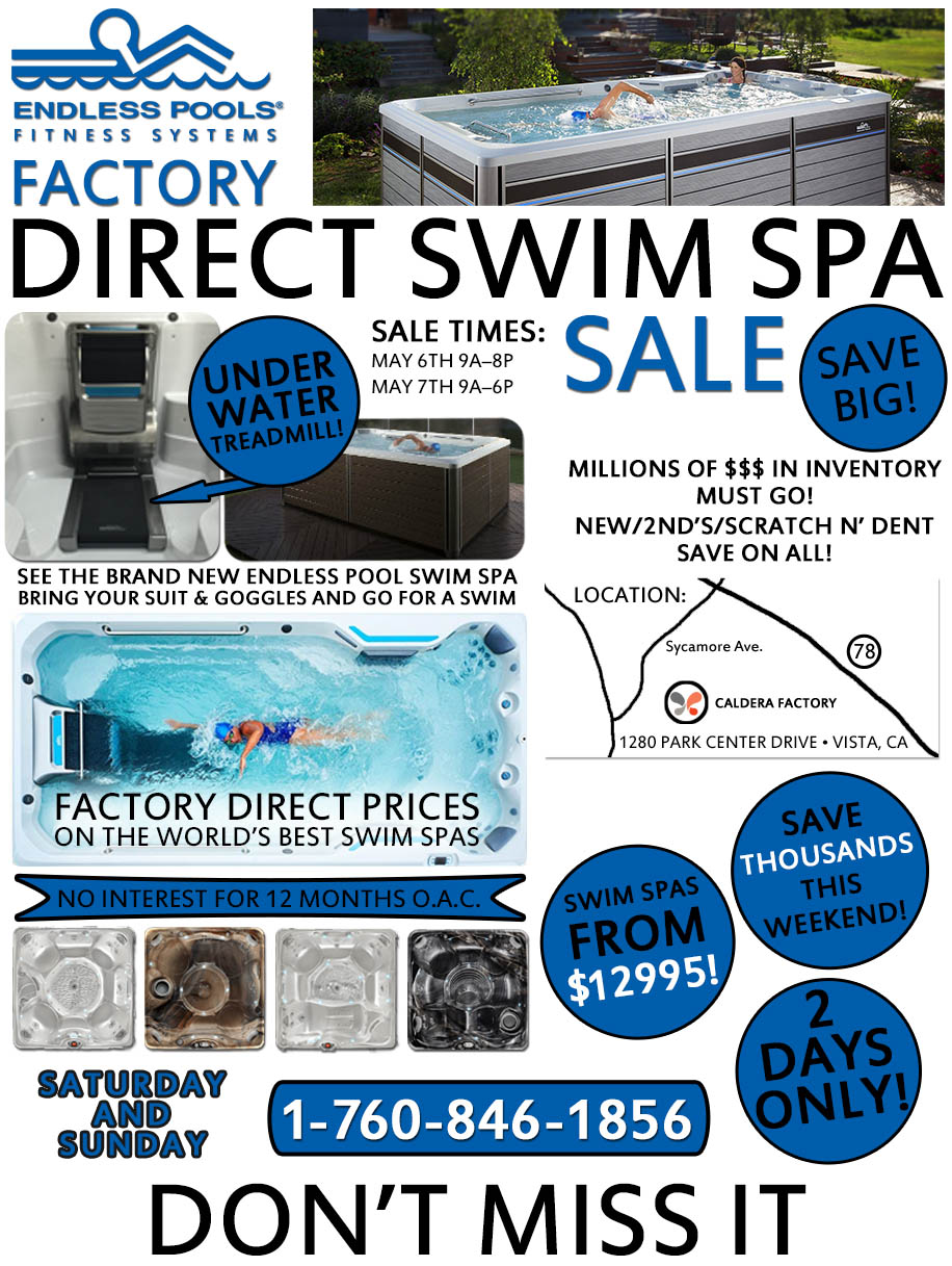 Endless Pools Factory Sale
