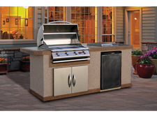 Cal Flame Kitchen Barbecue Island Outdoor Kitchen BBQ 810