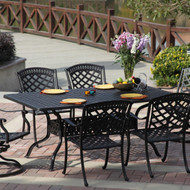 Darlee Sedona Patio Dining Set -Antique Bronze  -Seats 6