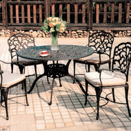 Darlee Catalina Patio Dining Set -Antique Bronze -Seats 4