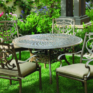Darlee Santa Barbara Patio Dining Set -Antique Bronze -Seats 4