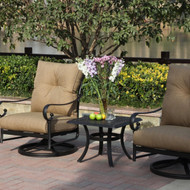 Darlee Santa Anita Deep Seating Set -Antique Bronze -Seats 2