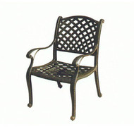 Darlee Nassau Patio Dining Chair - Antique Bronze