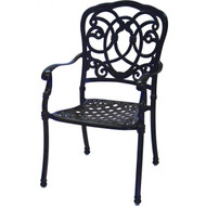 Darlee Florence Patio Dining Chair -Antique Bronze