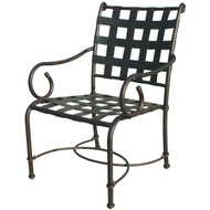 Darlee Malibu Patio Dining Chair -Antique Bronze