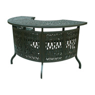 Darlee Elisabeth Patio Party Bar -Antique Bronze