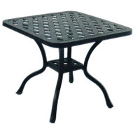 Darlee Series 30 Patio End Table -Antique Bronze