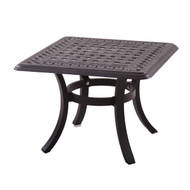 Darlee Series 88 Patio End Table -Antique Bronze