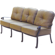 Darlee Elisabeth Deep Seating Patio Sofa -Antique Bronze