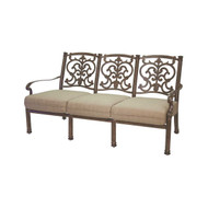 Darlee Santa Barbara Deep Seating Patio Sofa -Antique Bronze