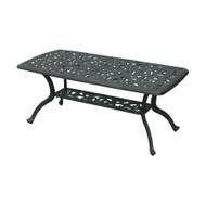Darlee Series 80 Patio Coffee Table -Antique Bronze