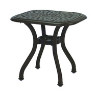 Darlee Series 60 Square Patio End Table -Antique Bonze