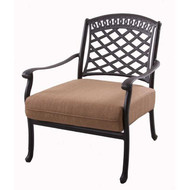 Darlee Sedona Patio Club Chair -Mocha