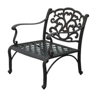 Darlee Catalina Patio Club Chair -Antique Bronze