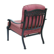 Darlee Charleston Patio Club Chair -Antique Bronze