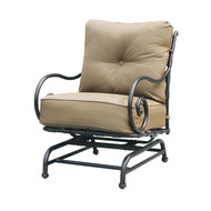 Darlee Malibu Patio Spring Base Club Chair -Antique Bronze