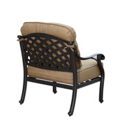 Darlee Nassau Patio Club Chair -Antique Bronze