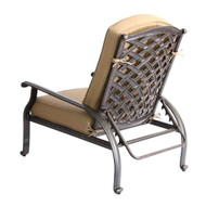 Darlee Nassau Adjustable Club Chair -Antique Bronze