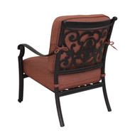 Darlee St. Cruz Patio Club Chair -Antique Bronze