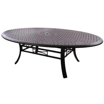 Darlee Series 99 Egg Shape Patio Dining Table 69 Quot X98