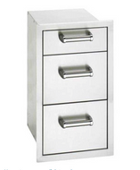 Fire Magic Flush Triple Drawers