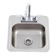 Lion Stainless Steel Sink & Faucet