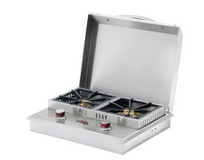 Cal  Flame Flat Side-By-Side Double Side Burner